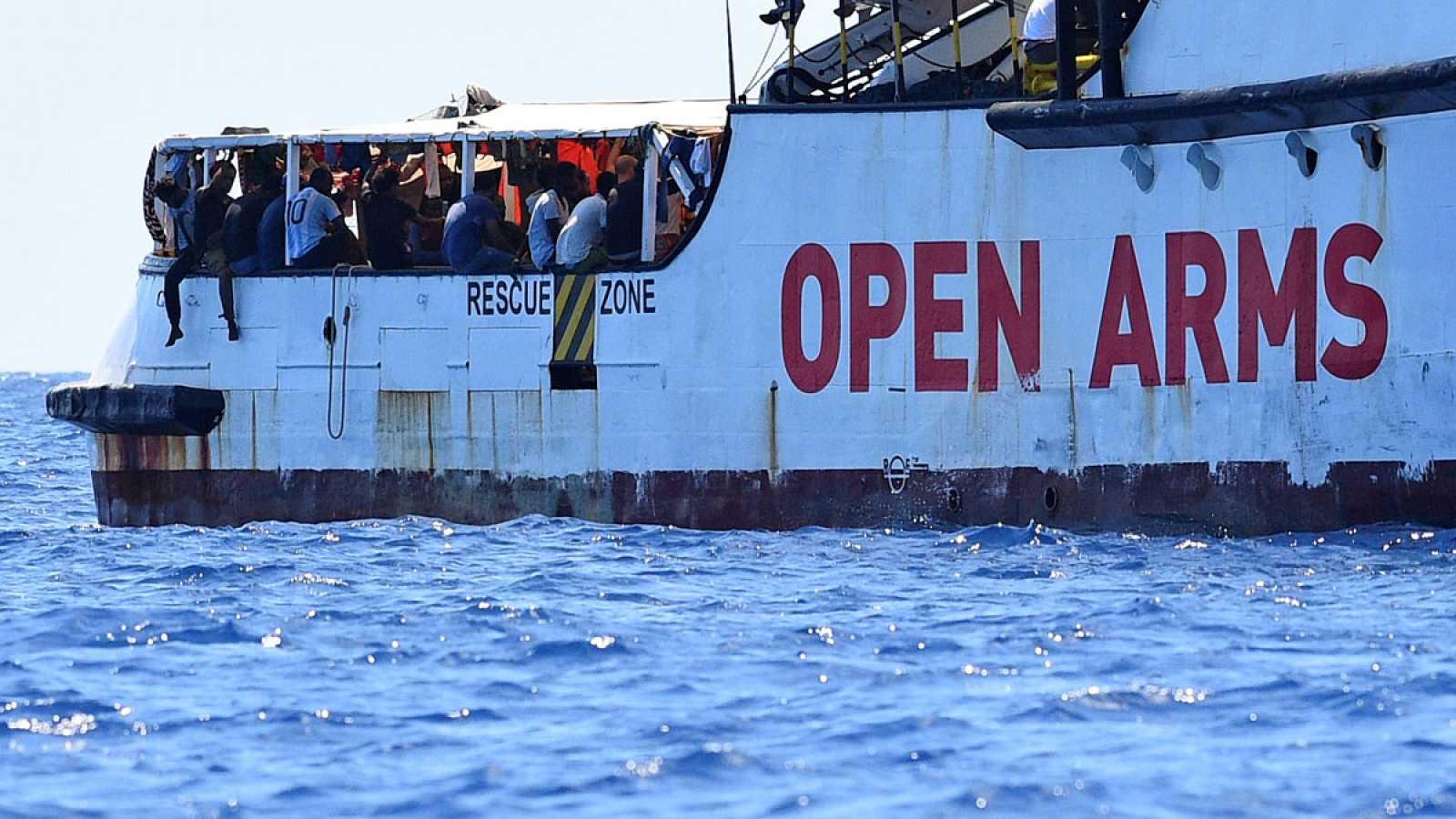 Lozano lamenta la insolidaridad de Landaluce con los migrantes del Open Arms