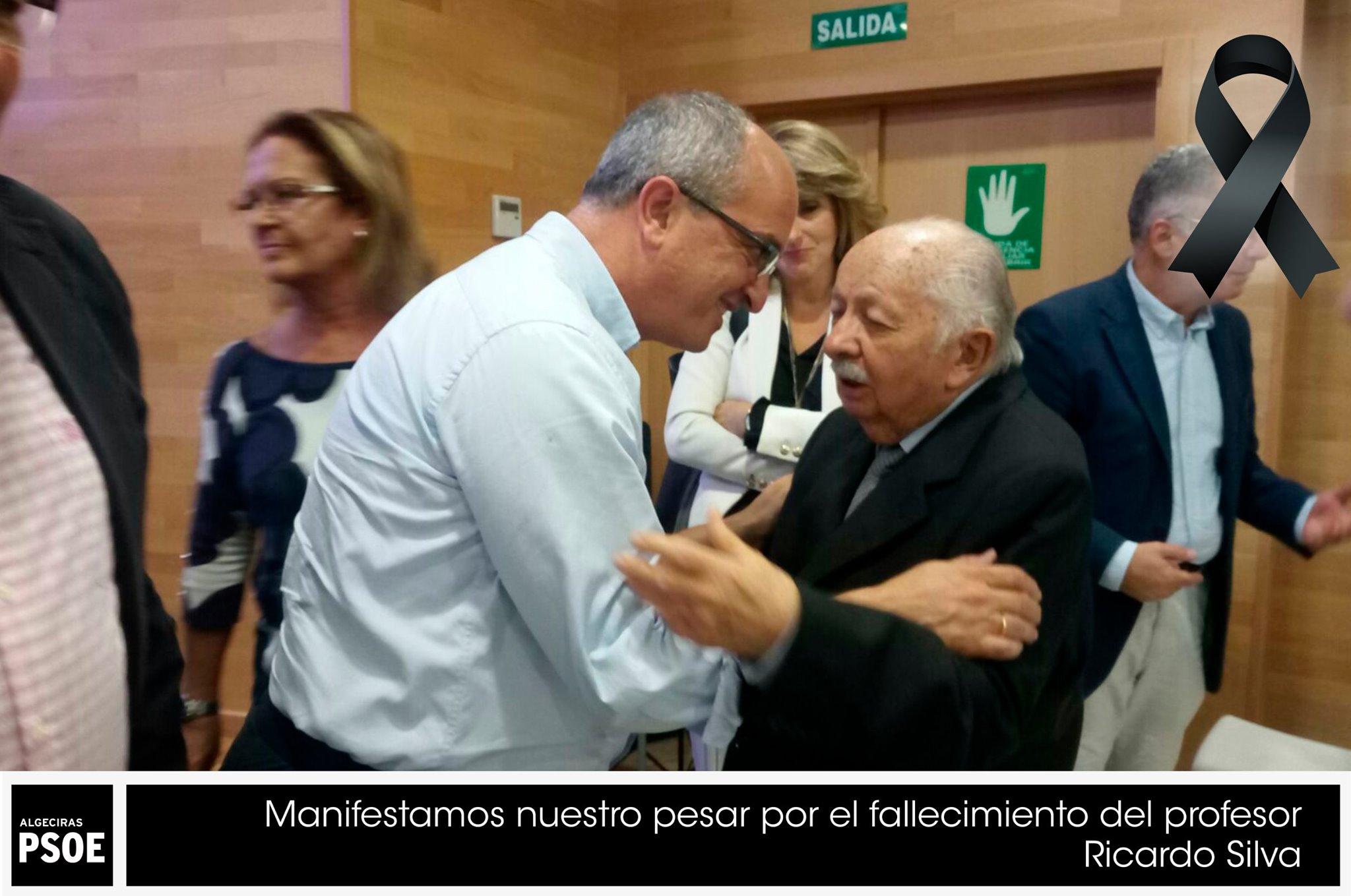 El PSOE manifiesta su pesar por el fallecimiento del profesor Ricardo Silva