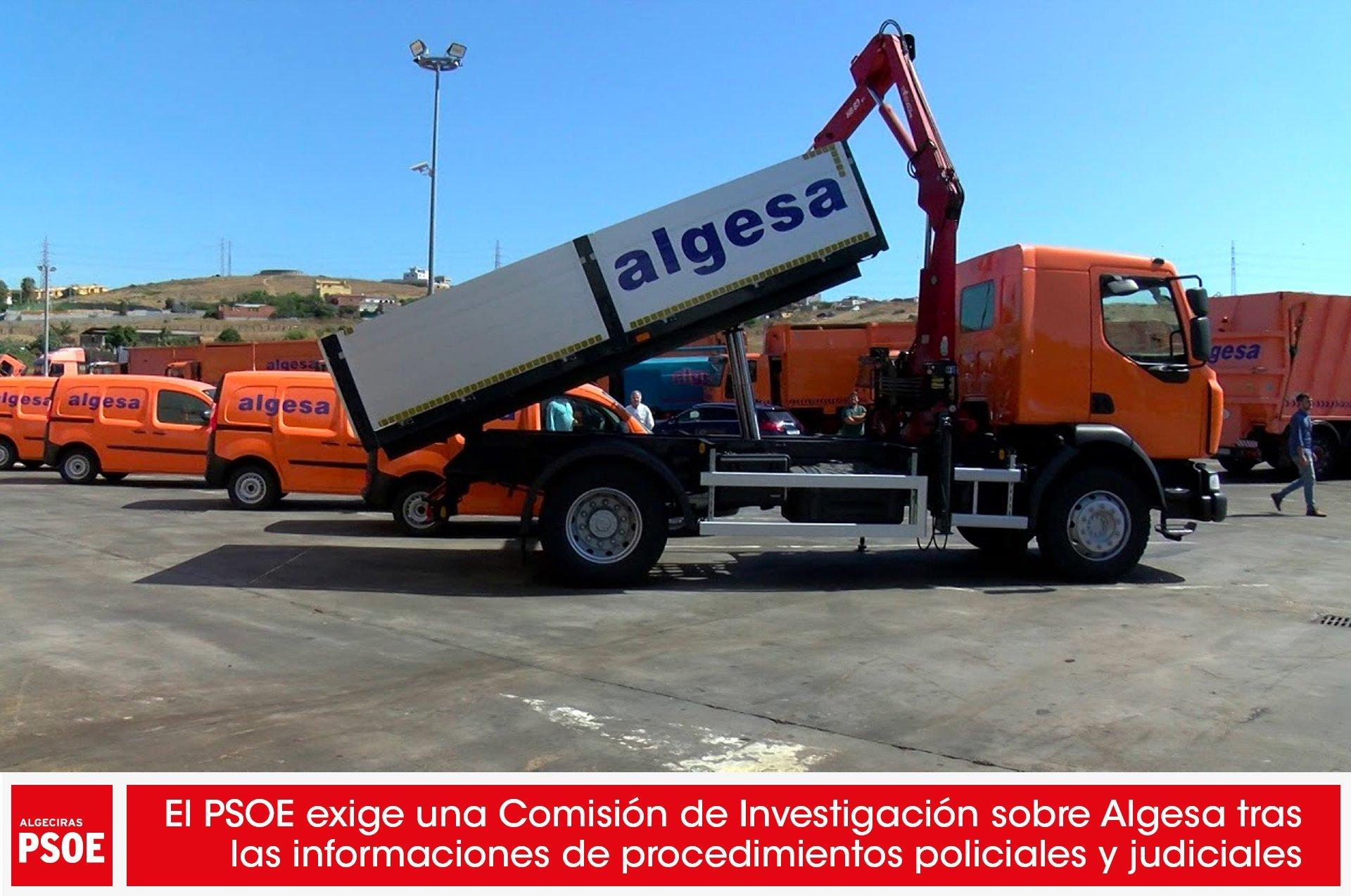 El PSOE exige una Comisión de Investigación sobre Algesa tras las informaciones de procedimientos policiales y judiciales