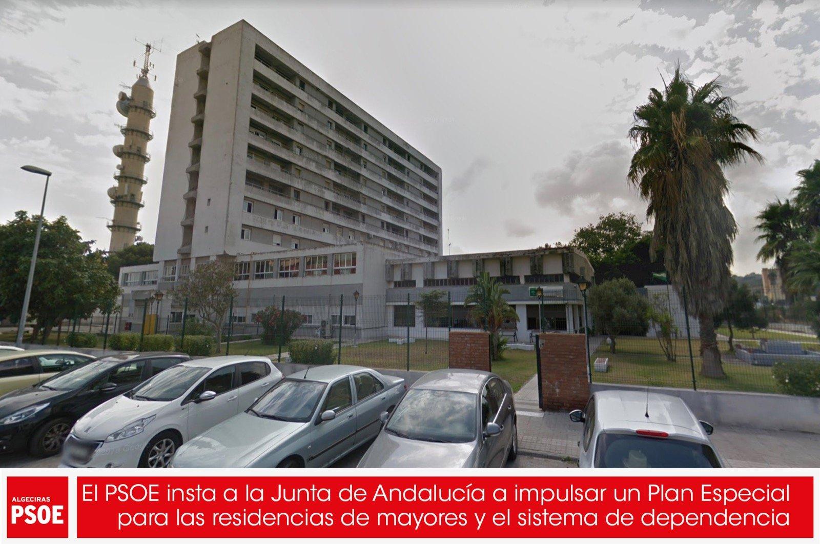 El PSOE insta a la Junta de Andalucía a impulsar un Plan Especial para las residencias de mayores y el sistema de dependencia