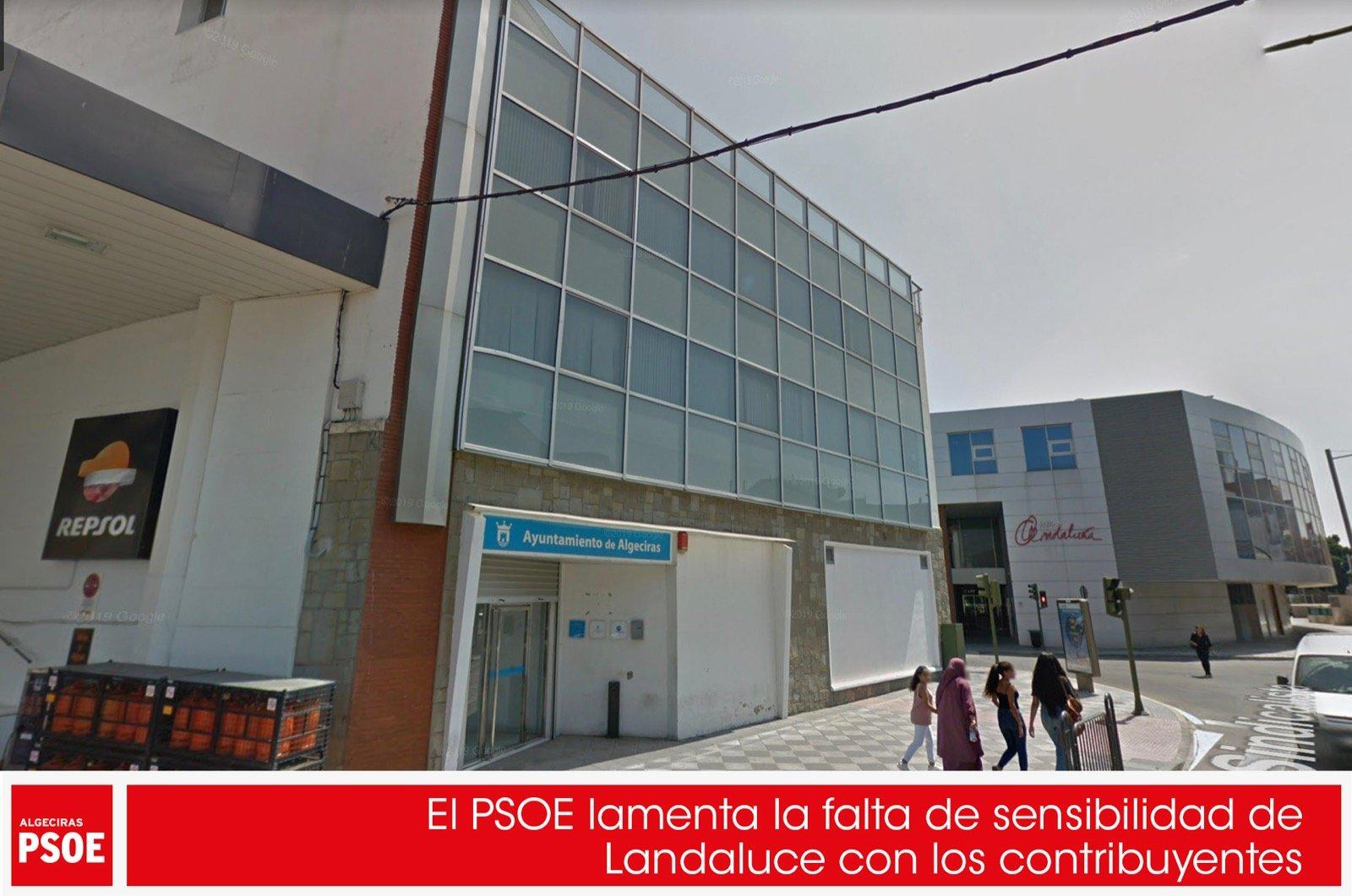 El PSOE lamenta la falta de sensibilidad de Landaluce con los contribuyentes